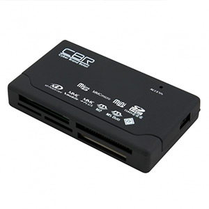Картридер CBR CR-455, All-in-one, USB 2.0