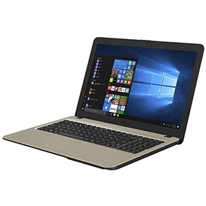 Ноутбук ASUS X540MA-GQ064T / Cel N4000 / 4Gb / 500Gb / shared / WiFi / Cam / BT / W10 black
