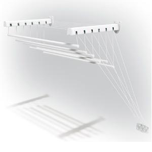 Сушилка для белья Gimi LIFT 120,потолочная/настенная,7 м.