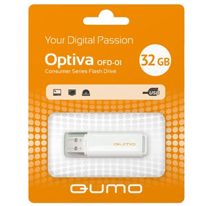 Накопитель Flash QUMO 32GB Optiva-01